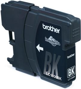 Brother LC-1100BK Zwart 9,5ml (Origineel)