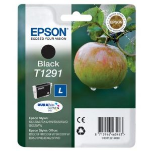 Epson T1291 Zwart 11,2ml (Origineel)