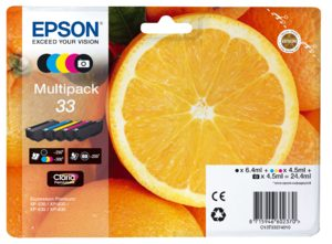 Epson T3337 Multipack 24,4ml (Origineel)