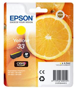 Epson T3344 Geel 4,5ml (Origineel)