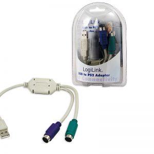 Adapter USB --> 2xPS/2 LogiLink