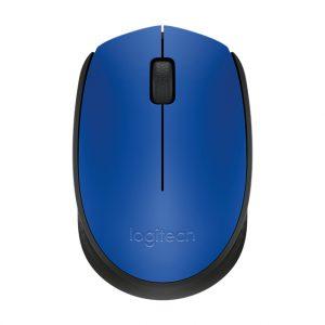 Logitech M171 Optical USB Blauw-Zwart Retail Wireless
