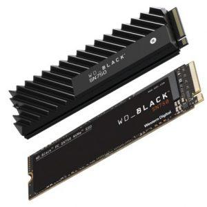 250GB M.2 PCIe NVMe WD Black SN750 3D/TLC/3000/1600 Ret