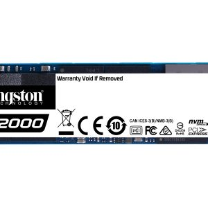 500GB M.2 PCIe NVMe Kingston A2000 3D/TLC/2200/2000 Ret