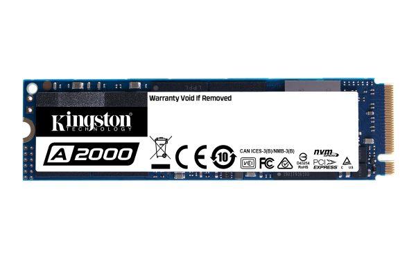 250GB M.2 PCIe NVMe Kingston A2000 3D/TLC/2000/1100 Ret