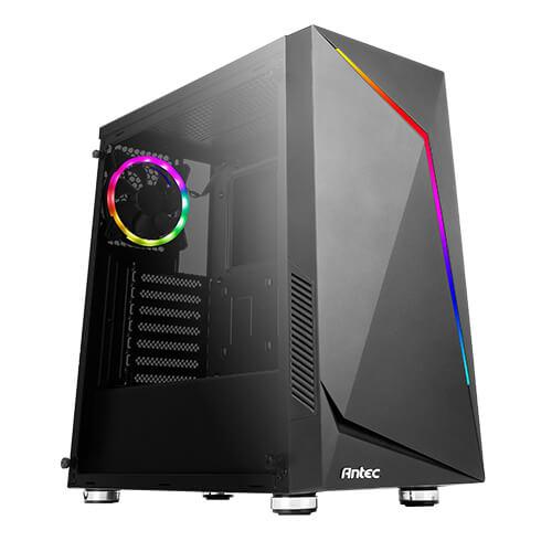 Antec NX300 Black - TG/ARGB/USB3.2/Midi/ATX