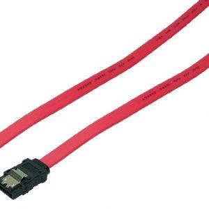 SATA LogiLink 0.30m 6GBs Rood