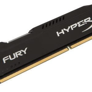 4GB DDR3/1600 Kingston HyperX Fury CL10 zwart Retail