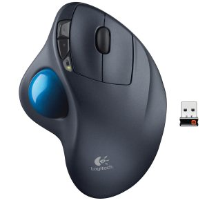 Trackball Logitech M570 USB Zwart Retail Wireless