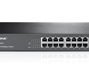 TP-Link 16Port 100Mbit 1U 13 inch