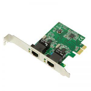 LogiLink 1Gbps netwerkkaart PC0075 2xRJ45