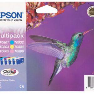 Epson T0807 Multipack 44,4ml (Origineel)