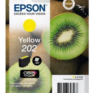 Epson Claria Premium 202 Geel 4,1ml (Origineel)